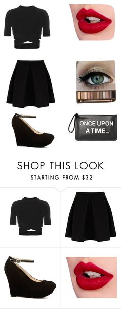 """Untitled #42"" by mama-seokjin92 ❤ liked on Polyvore featuring T By Alexander Wang, Charlotte Tilbury and RED Valentino"