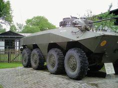The Spähpanzer Luchs is a German 8x8 amphibious reconnaissance armoured fighting vehicle (Spähpanzer)