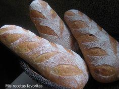 Mis recetas favoritas: Pan campesino II
