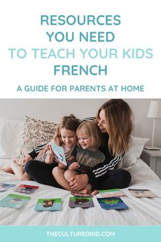 Ever wanted to know the best way to teach your kids the French language at home? Today I'm sharing on the importance of play and how you can introduce any foreign language through games and activities! Find out how you can get started today! #languages #bilingual #lesson #teach Teach English To Kids, Learning Spanish For Kids, Kids English, Learning Through Play, English Lessons, Kids Learning, Teaching French, Teaching English, Teaching Spanish