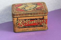 Cotton Industry Tin Contained English Made Ring Travellers. Early Beautiful Collectable for Social History Enthusiasts by AtticBazaar on Etsy Magic Box, Coffee Cans, Tin, Decorative Boxes, Industrial, English, History, Unique Jewelry, Handmade Gifts