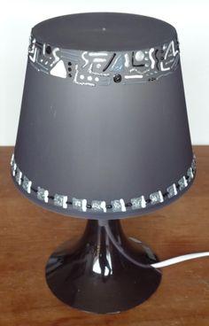 Une lampe Ikéa personnalisée avec de la peinture DIAM'S 3D Emboss Painting, 3d Painting, Candle