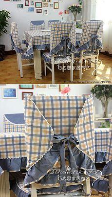 Nous cousons nappes, housses de chaise (de cuisine).