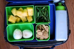 dozens of School Lunch Ideas