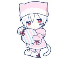 kobayashi-san chi no maid dragon elma chibi stiquer Dibujos Anime Chibi, Chibi Cat, Cute Anime Chibi, Kawaii Chibi, Anime Neko, Cute Anime Guys, Kawaii Anime Girl, Anime Expressions, Chibi Characters