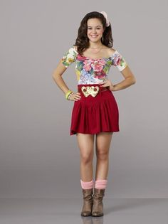 Hayley Orrantia as Erica Goldberg The Goldbergs