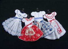 DIY Hanky Dress Pattern 105 106 by HankyDresses on Etsy, $10.00