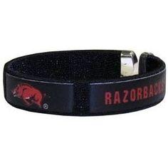 Arkansas Razorbacks Fan Band Bracelet