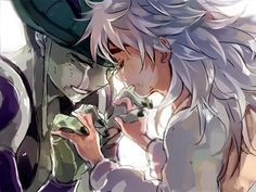 Hunter x Hunter: Meruem and Komugi