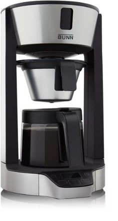 Bunn Hg 8 Cup Phase Brew Coffee Maker Black and