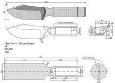 Чертежи ножей для изготовления. Часть 2 | LastDay Club image 79