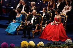 10.12.14 | Members of the Swedish Royals attended the Nobel Prize Ceremony at City Hall in Stockholm