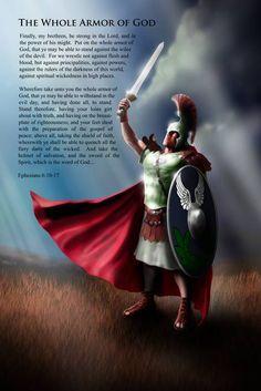 "Stunning ""Whole Armor Of God"" Artwork For Sale on Fine Art Prints"