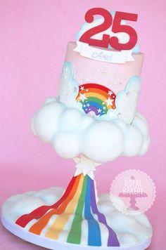 Rainbow cake by Royal Bakery