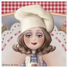This is me in my domestic mind. Illustrations, Illustration Art, Creation Photo, Holly Hobbie, Marquis, Vintage Girls, Clipart, Cartoon Art, Caricature