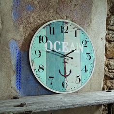 love the ocean clock