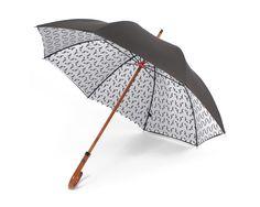 grey london pigeon monogram umbrella ++ london undercover