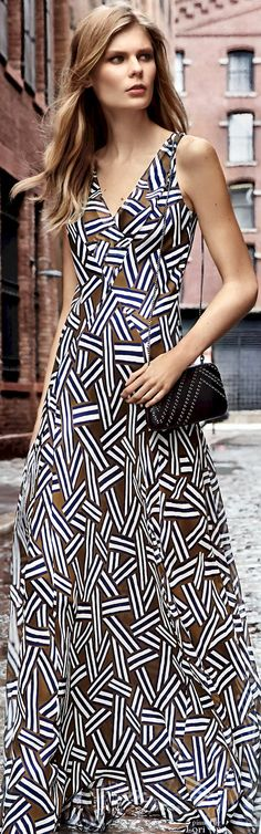 """Diane von Furstenberg Pre-Fall 2016 """"And the LORD said to Moses, """"Go to the people and consecrate them today and tomorrow. Have them wash their clothes."""" Exodus 19:10"""