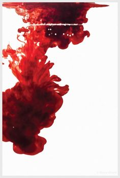 Blood by Noura Khenfi ( experimental abstract photography )