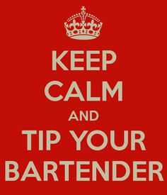 The inside scoop about tipping the bartender.