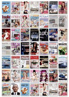 2012.11.13 - coperti editii noi reviste romanesti si internationale