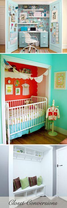 Got Closets? 5 Closet Conversions for Small Homes