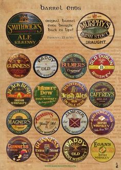 Home Bar Signs, Diy Home Bar, Home Bar Decor, Bars For Home, Irish Pub Interior, Irish Pub Decor, Pub Design, Menu Design, Beer Decorations