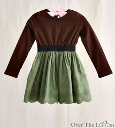 Over the Loom - Color Block Cotton Eyelet Dress in Green, $15.00 (http://www.overtheloom.com/sale/girl/color-block-cotton-eyelet-dress-in-green/)