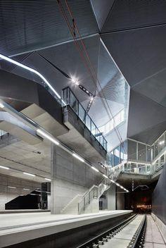 ADIF Railway Station of Logrono by José Hevia Blach