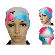 Bazaar Waterproof High Elastic Silicon Swimming Cap Swimming Hat For Adult >>> To view further for this item, visit the image link.Note:It is affiliate link to Amazon.