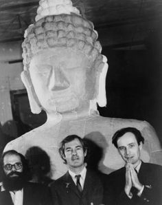 Allen Ginsberg, Timothy Leary, and Ralph Metzner