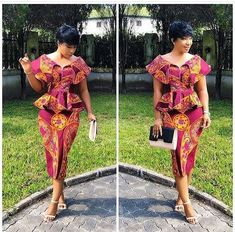 Super Stylish and Vibrant Ankara Skirt and Blouse Styles for Beautiful Ladies.Super Stylish and Vibrant Ankara Skirt and Blouse Styles for Beautiful Ladies African Inspired Fashion, Latest African Fashion Dresses, African Print Dresses, African Dresses For Women, African Print Fashion, African Wear, African Attire, African Women, African Style