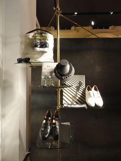 """PAUL SMITH,Soho,New York,""""On Display"""", pinned by Ton van der Veer"""