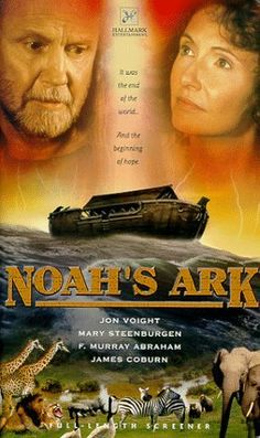 """NOAH'S ARK"" (John Irvin,1999) is a TV Miniseries two episodes, trying to blend the story of Flood with the destruction of Sodom and Gomorrah. The end result is a failed product, which wasted characterizations excellent cast members, composed by John Voight, Mary Steenburgen, James Coburn and F. Murray Abraham."