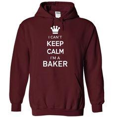 I Cant Keep Calm Im A Baker