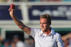 Stuart Broad took five wickets to put England in charge on the first day of the first Ashes Test despite a battling Australian rearguard that kept the hosts alive at 273 for 8 at the close of play on November 21, 2013.  (Image Credit: Getty Images)