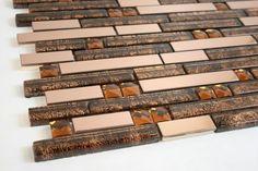 Newport Deep Bronze Blend 12 in. x 12 in. Mesh-Mounted Stainless Steel & Glass Mosaic Tile - Box of 5 sqf Marbleville http://www.amazon.com/dp/B00C1LW8T2/ref=cm_sw_r_pi_dp_gfYaub0B3RV8J