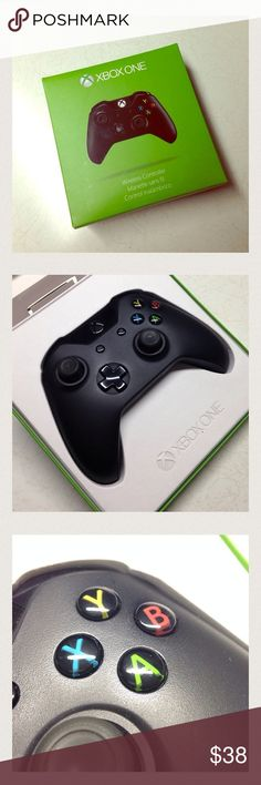 Xbox One Controller This wireless controller has been played with only for a month. Sold Xbox One already. Working Great Condition! MAKE ME AN OFFER xbox 360 Accessories