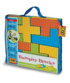 Take a look at this Bumpity Block Set by Development by Design on #zulily today!