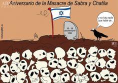 La masacre de Sabra y Chatila. Aniversario de unos de los crímenes más horrendos del siglo XX.