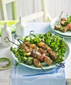 Fast Ed s lamb and onion brochettes recipe - Yahoo7