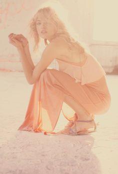 Martha Hunt for Free People Lookbook  more good colors