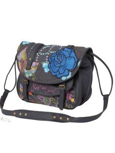 Love this bag - Desigual has so many wonderful clothes and bags/purses.