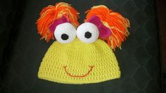 Hat # 35 a girls hat, Fraggle Rock by Evey Bell 8-19-2012