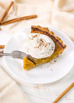 Healthy Gluten-Free Pumpkin Pie recipe