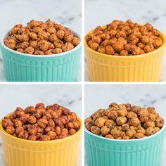 Roasted Chickpeas 4 Ways by Tasty