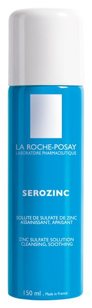Serozinc. Calms the skin while cleansing it of impurities and bacteria that aggravate acne