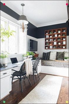 Find the best idea to make a home office for two. Sharing a home office sounds l. - Find the best idea to make a home office for two. Sharing a home office sounds like a good idea at - Home Office Design, Home Office Decor, Diy Home Decor, House Design, Office Ideas, Office Designs, Office Setup, Room Decor, Design Room