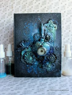 Riikka Kovasin - Paperiliitin: Blue heart cover