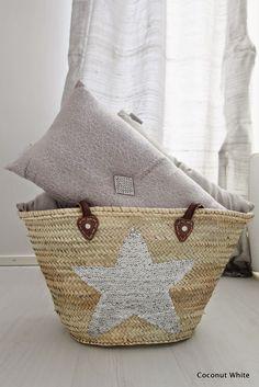 Coconut White: Zoco Homen korikassi hopeisella tähdellä